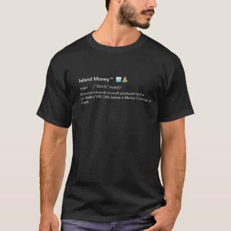 Dinero V.1.0 de la isla Camiseta