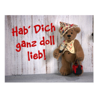 Dinky Bears: Declaración de amor Postal