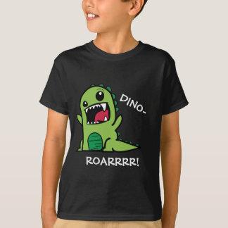 ¡Dino-Rugido! El dinosaurio embroma la camiseta