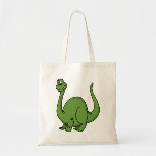 Dino verde bolsa