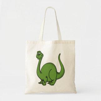 Dino verde bolsa tela barata