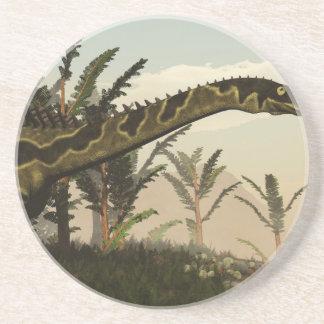 Dinosaurio de Agustinia - 3D rinden Posavasos