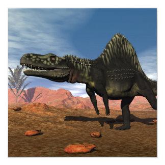 Dinosaurio de Arizonasaurus - 3D rinden Invitación 13,3 Cm X 13,3cm