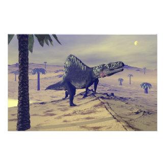 Dinosaurio de Arizonasaurus - 3D rinden Papelería