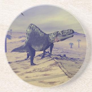 Dinosaurio de Arizonasaurus - 3D rinden Posavasos De Arenisca