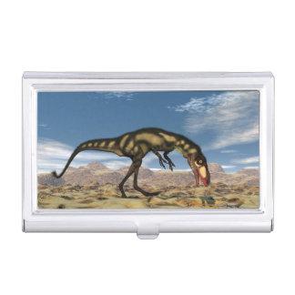 Dinosaurio de Dilong - 3D rinden Caja Para Tarjetas De Visita