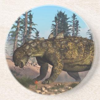 Dinosaurio de Euoplocephalus - 3D rinden Posavasos