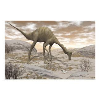 Dinosaurio de Gallimimus - 3D rinden Papelería