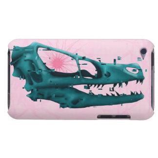 Dinosaurio de Glitched Funda Para iPod De Barely There