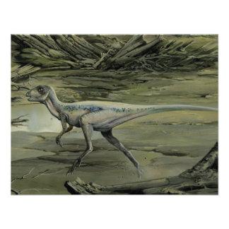 Dinosaurio de Hypsilophodon del vintage Comunicados Personales