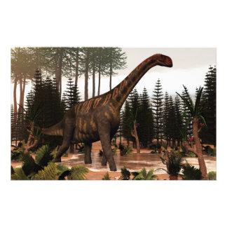Dinosaurio de Jobaria - 3D rinden Papelería
