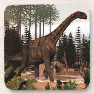 Dinosaurio de Jobaria - 3D rinden Posavasos