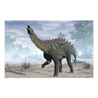 Dinosaurio de Miragaia - 3D rinden Papelería