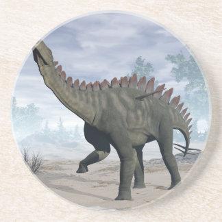 Dinosaurio de Miragaia - 3D rinden Posavasos De Arenisca