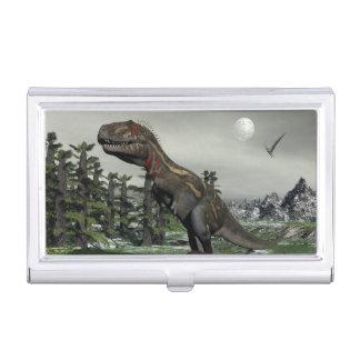 Dinosaurio de Nanotyrannus - 3D rinden Caja Para Tarjetas De Visita