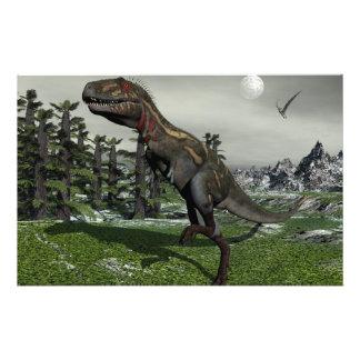 Dinosaurio de Nanotyrannus - 3D rinden Papelería