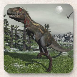 Dinosaurio de Nanotyrannus - 3D rinden Posavasos