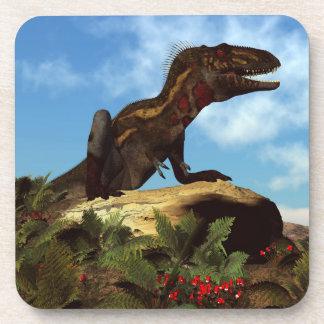 Dinosaurio de Nanotyrannus que descansa - 3D Posavasos