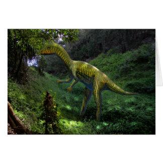 Dinosaurio de Othiniela Tarjetón