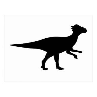 Dinosaurio de Pachycephalosaurus Postal