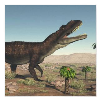 Dinosaurio de Prestosuchus - 3D rinden Invitación 13,3 Cm X 13,3cm