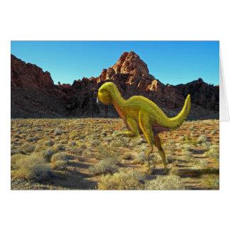 Dinosaurio de Quantasarus Felicitaciones