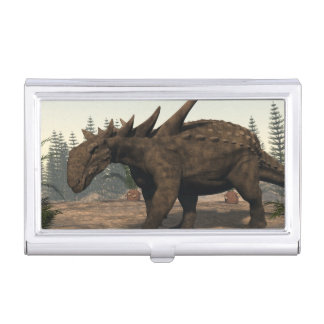Dinosaurio de Sauropelta - 3D rinden Caja Para Tarjetas De Visita