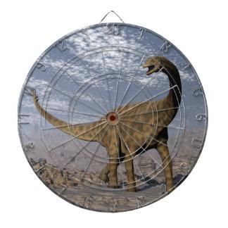Dinosaurio de Spinophorosaurus que camina en el Diana
