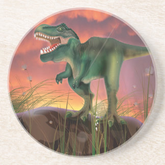 Dinosaurio de T-Rex Posavasos