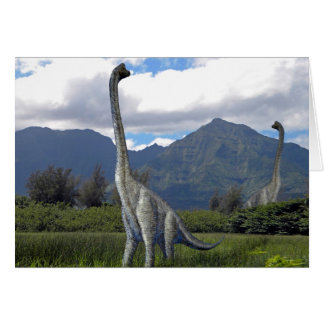 Dinosaurio de Ultrasarus Felicitacion