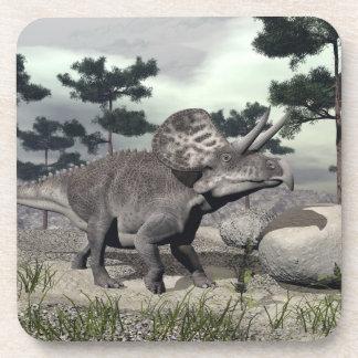 Dinosaurio de Zuniceratops - 3D rinden Posavasos