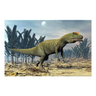 Dinosaurio del Allosaurus - 3D rinden Papelería