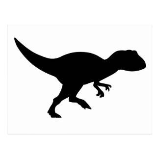 Dinosaurio del Allosaurus Postal