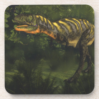 Dinosaurio del Aucasaurus - 3D rinden Posavasos