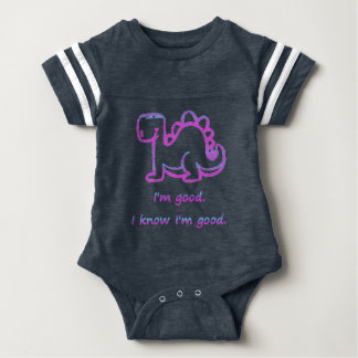 Dinosaurio del bebé body para bebé