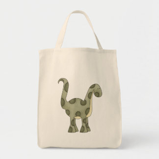 Dinosaurio del bebé bolsa tela para la compra