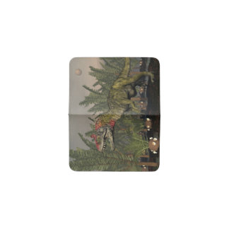 Dinosaurio del Cryolophosaurus - 3D rinden Tarjetero