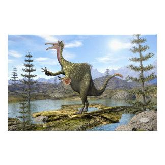 Dinosaurio del Deinocheirus - 3D rinden Papelería