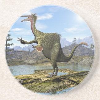Dinosaurio del Deinocheirus - 3D rinden Posavasos De Arenisca