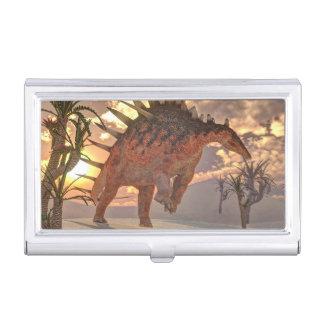 Dinosaurio del Kentrosaurus - 3D rinden Caja Para Tarjetas De Visita