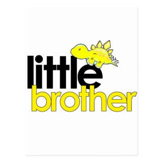 dinosaurio del pequeño hermano nuevo postales