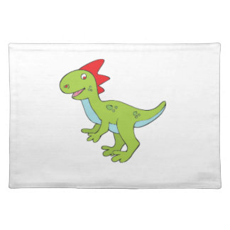 dinosaurio del rex del lagarto salvamanteles