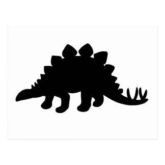 Dinosaurio del Stegosaurus Postal
