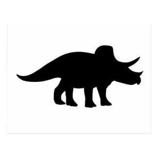 Dinosaurio del Triceratops Postales