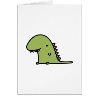 Dinosaurio Felicitacion