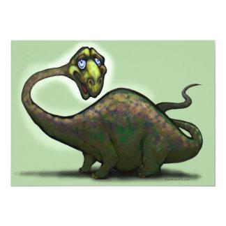 Dinosaurio Invitación Personalizada
