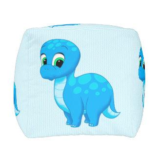 Dinosaurio lindo del bebé azul