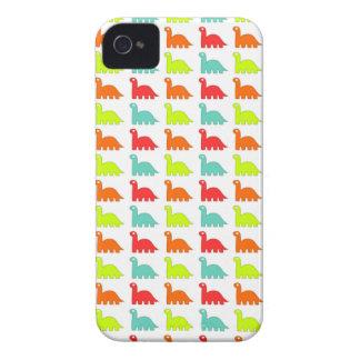 Dinosaurio lindo dulce del color carcasa para iPhone 4