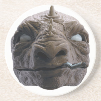 Dinosaurio que fuma posavasos