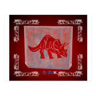 DINOSAURIO RED CUSTOMIZABLE PRODUCTS POSTCARDS